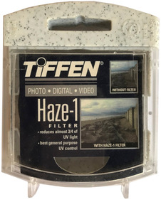 Filtro Tiffen (haze -1) Para Cámara/lente 55mm