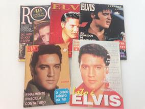 Lote 5 Revistas Elvis Presley