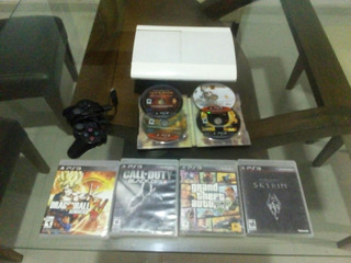 Ps3 Super Slim 250gb+control+10 Juegos(1 Digital)