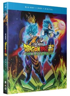 Dragon Ball Super: Broly Blu-ray + Dvd + Digital