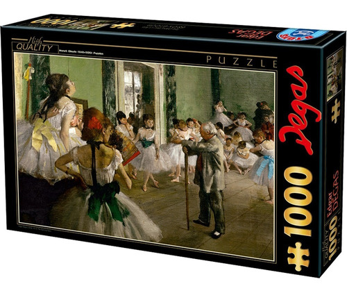 Rompecabezas  Degas, El Examen De Danza