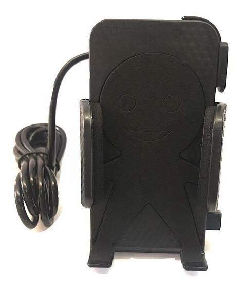 Suporte Usb Moto Carregador Celular Ybr 125 (sup01)