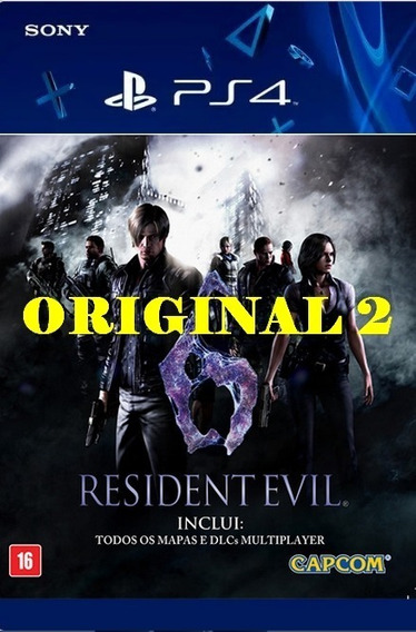 Resident Evil 6 - Ps4 Code 2 Envio Agora
