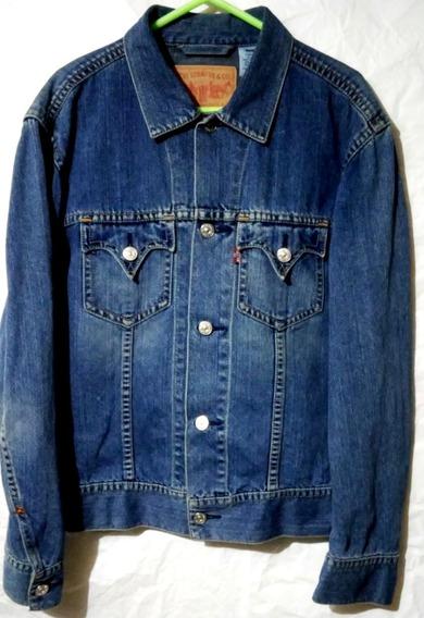Casaca Jeans Levis Iconic Jacket Talla: Xl