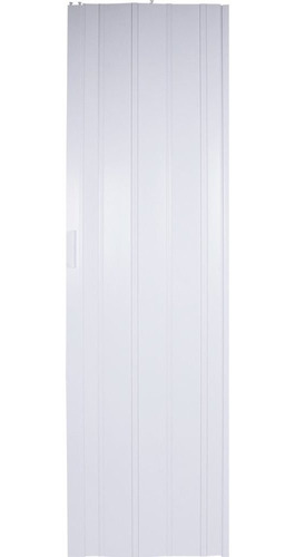 Porta Sanfonada Pvc 2,10m X 60cm Branca Liege