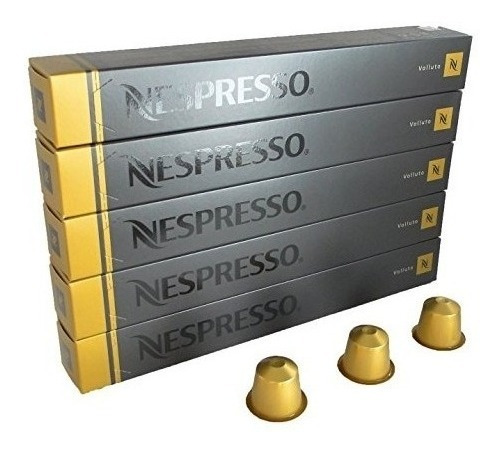 Capsulas Cafe Nespresso Originale Box X10 Vollutto