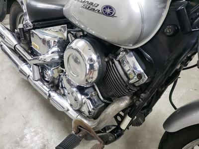 Moto Yamaha Xvs Drag Star 650 Prata