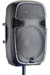 Bafle Activo Stagg 15 Pulgadas 300w Bluetooth Usb Fm Control