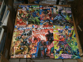 Liga Da Justiça 7 Gibis R$ 35,00