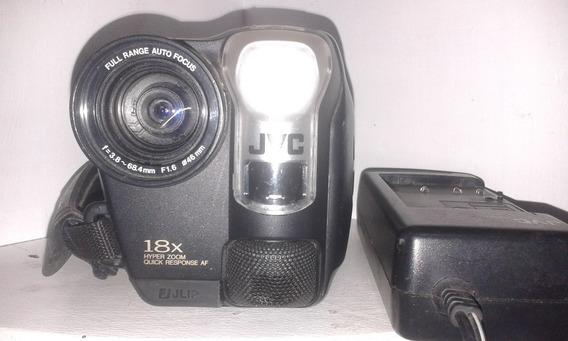 Filmadora Jvc Zoom 18x Gr-ax720u Compact Vhs Leia Descrição