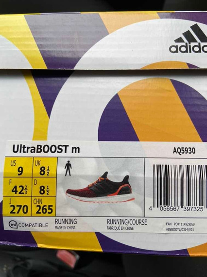 Zapatillas Running adidas Ultraboost 9 Us