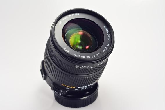 Nikon Lente Sigma 18 50mm 2.8 Dc Hsm Vr Para Nikon