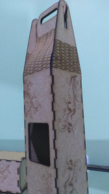 Kit 2 Caixas Para Vinho