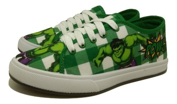 Tênis Infantil Masculino Homem Aranha Hulk Ben 10