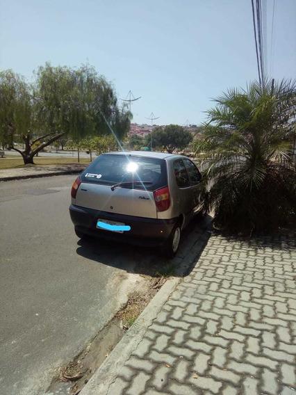 Fiat Palio 98 Motor 1.0 Prata 3 Portas