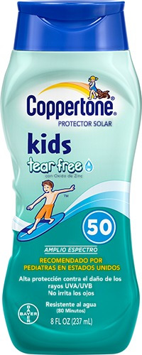 Coppertone Protector Solar Infantil Con Fps 50 237ml