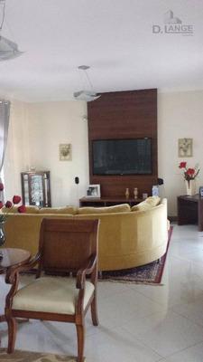 Casa Com 4 Dormitórios Para Alugar, 373 M² Por R$ 4.000/mês - Jardim Guarani - Campinas/sp - Ca9801