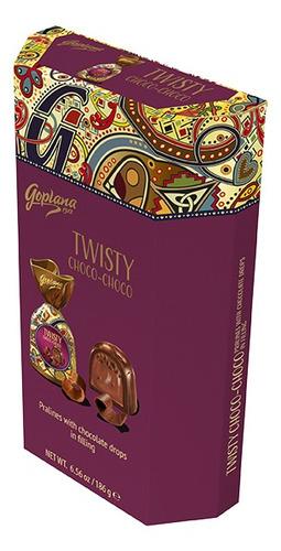 Imagen 1 de 1 de Estuche De Bombones Goplana Twisty Choco-choco