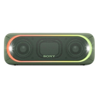 Sony Parlante Bluetooth Con Luces Extrabass Verde Srs-xb30gc