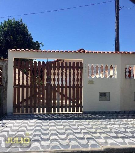 Imagem 1 de 27 de Entrada De R$ 54 Mil E Saldo Financiado! Casa Com 3 Dormitórios, 87 M² Por R$ 270.000 - Balneario Verde Mar - Mongaguá/sp - Ca4126