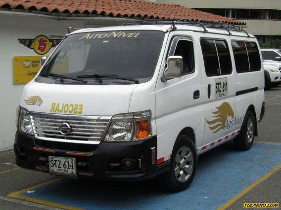 Nissan Urvan Mt 3000 Diesel