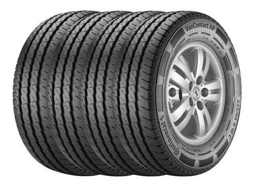 Imagen 1 de 5 de Kit 4 Neumáticos Continental 225 65 R16 Vanco Contact Ap