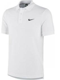 Camisa Polo Nike Dry Team Masculina (branco E Cinza)