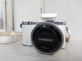 Camera Samsung Smart Nx 3000 Completa Novissima!