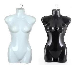 Maniquíes Colgador Mujer Para Tienda Acrílico/negro Blanco