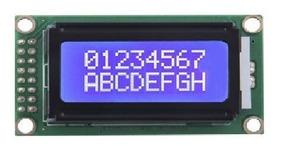 Display Lcd 8x2 Azul Com Backlight Arduino Pic