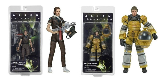 Neca Alien Series 6 Alien Isolation - 2 Fig Amanda Ripley