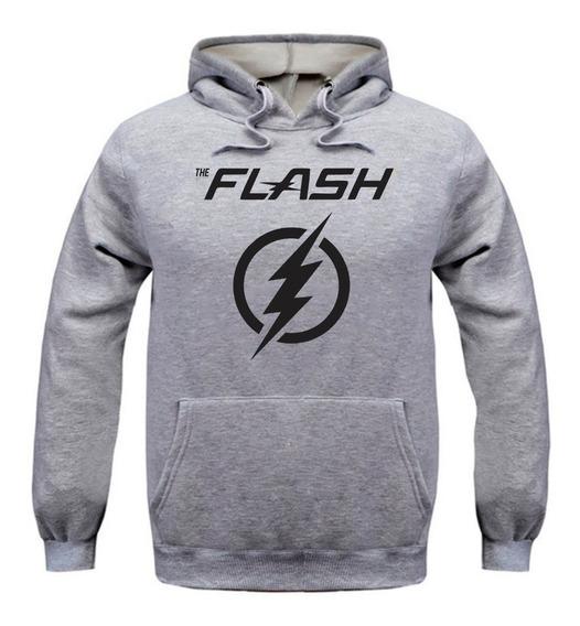Blusa Moletom Casaco Flash Seriado Moleton 50% Off