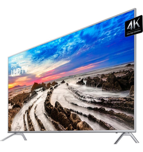 "Tv 75"" Led Samsung 4k - Ultra Hd Smart - Un75mu7000"