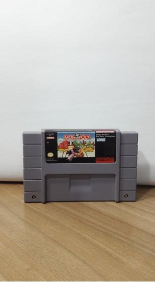 Monopoly Super Nintendo Snes Original
