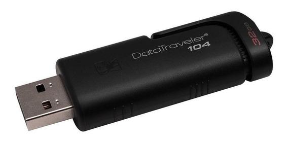 Memoria USB Kingston DataTraveler 104 32GB negro