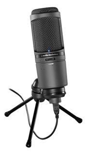 Micrófono Audio-Technica AT2020USBI cardioide negro