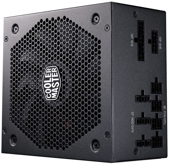 Fonte Atx 650w Full Modular 80 Plus Gold Cooler Master