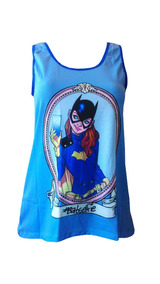 Blusa Regata Feminina - Batgirl - Quadrinhos - Geek