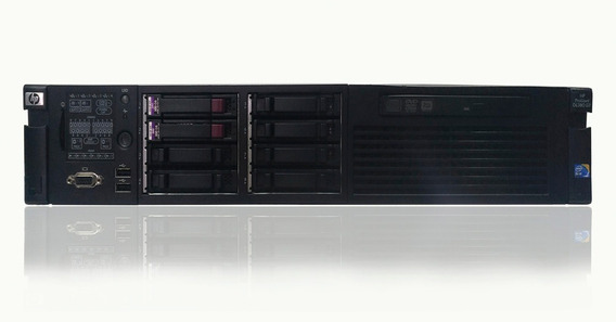 Servidor Hp Dl 380 G7 32gb Hd 300gb Sas Sixcore