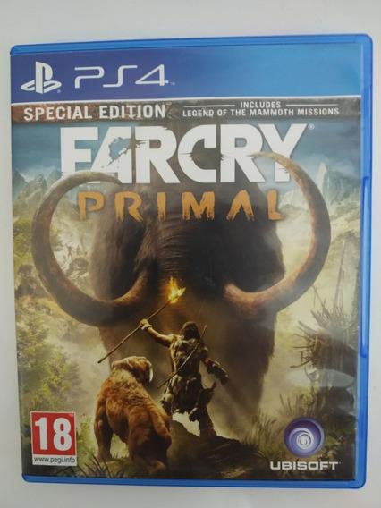 Far Cry Primal Ps4 Mídia Física Original Legendas Português
