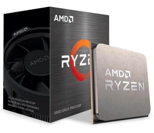 Imagem 1 de 2 de Processador Gamer Amd Ryzen 5 5600x Ddr4 Am4 Com Cooler