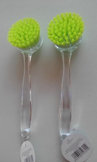 Cepillo De Limpieza Redondo - Precio X 2 Unidades