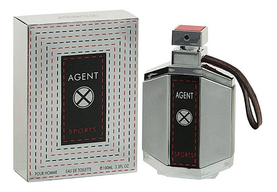Perfume Linn Young Agent X Sports Edt 100ml/original