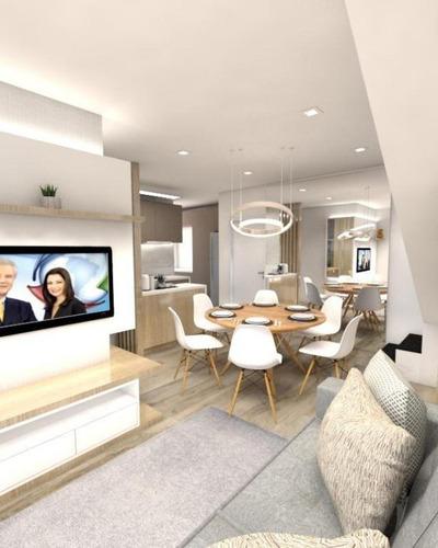 Cobertura Com 3 Dormitórios À Venda, 135 M² Por R$ 830.000,00 - Jardim - Santo André/sp - Co1248