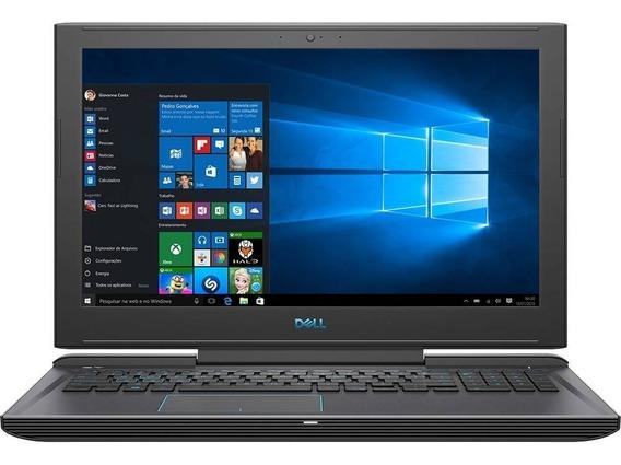 Notebook Dell Gamer G7 I7 32gb 512 Ssd Nvme + 1tb Placa De Vídeo Dedicada Nvidia 1060 6gb 15.6 Full Hd Antirreflexo Ips