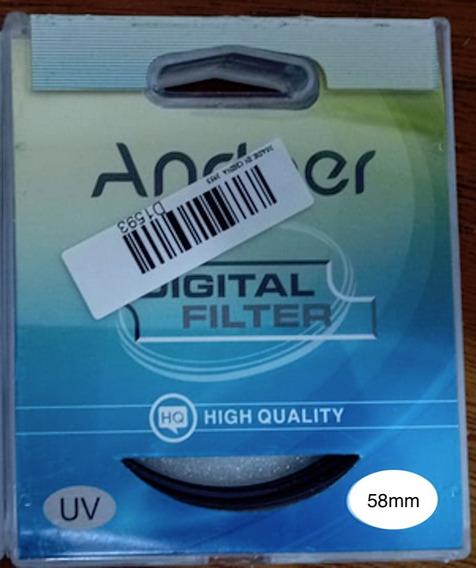 Filtro Uv Andoer Proteção Lentes/objetivas-vários Tamanhos