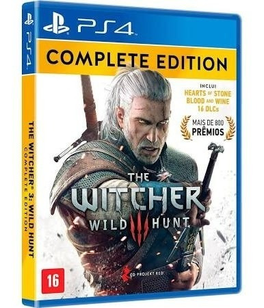 The Witcher 3 Complete Edition - Ps4 - Mídia Física - Nv
