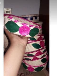 Paquete De 80 Tortilleros De Medio Kilo Con Doble Flor