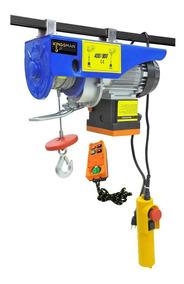 Polipasto Electrico Inalambrico 400-800kg Cable 20metr 110 V