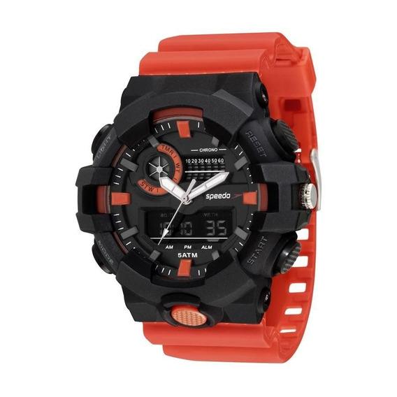 Relógio Speedo Masculino Ref: 81156g0evnp2 Big Case Anadigi